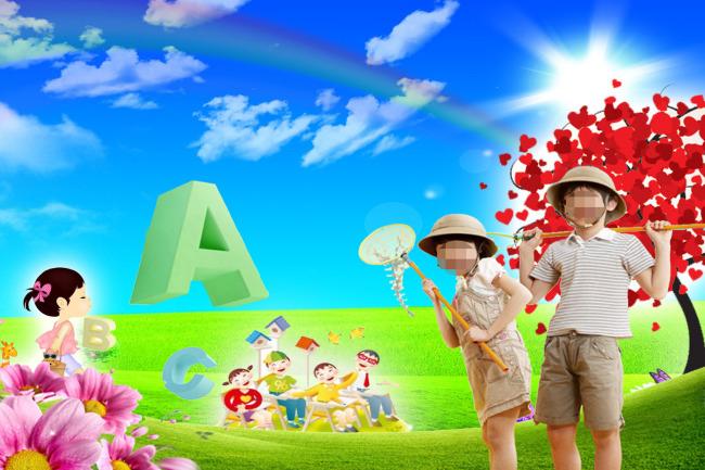 儿童背景素材模板下载(图片编号:10767040)