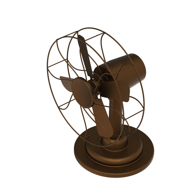 老式电风扇