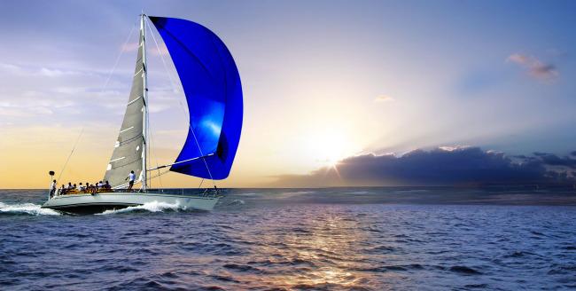 【jpg】乘风破浪 帆船 扬帆
