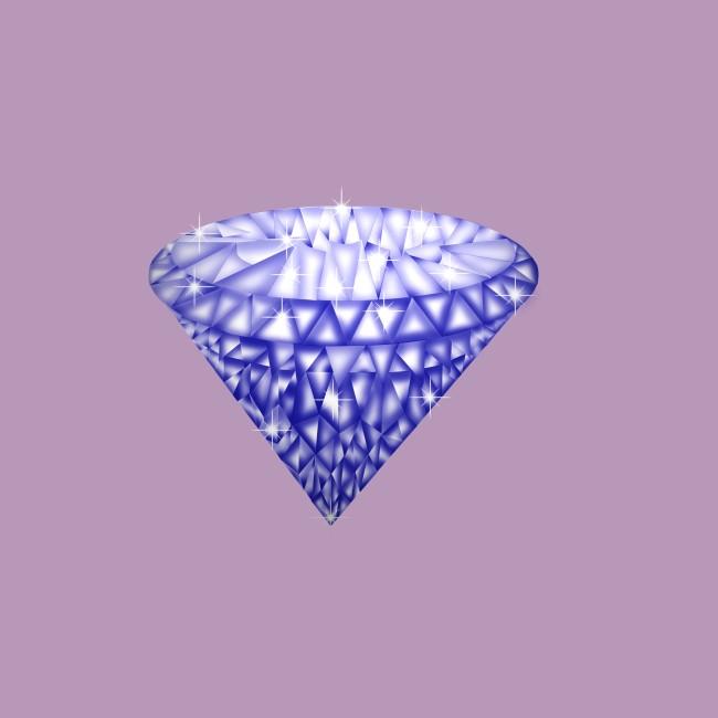 蓝钻素材设计