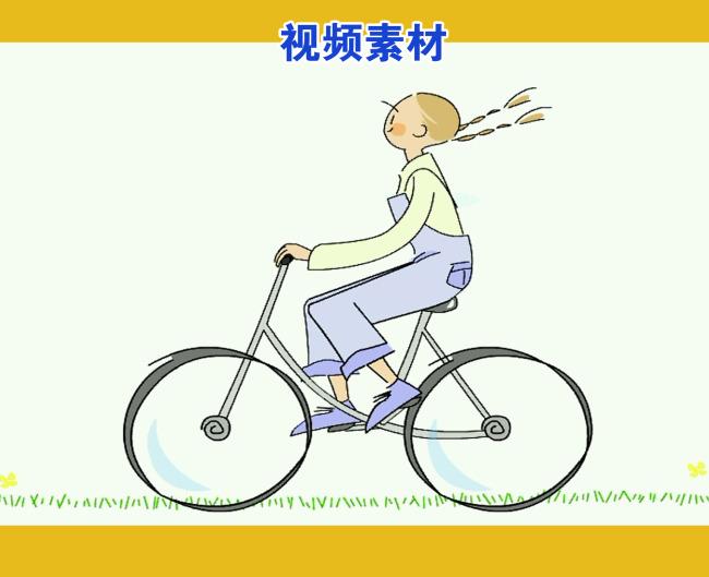 小女孩; 骑自行车的女孩;;
