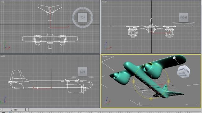 飞机模型设计 3d模板下载 飞机模型设计 3d图片下载