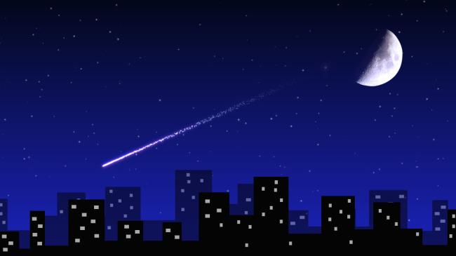 星空流星取戒指效果; 文件详细参数描述; 下载《星空流星取戒指效果图片