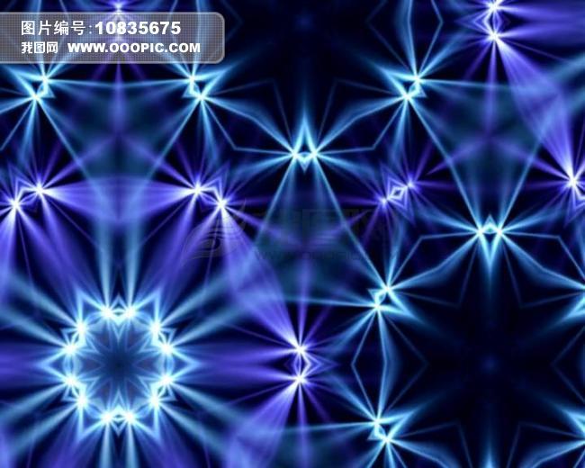 蓝色星星qq头像