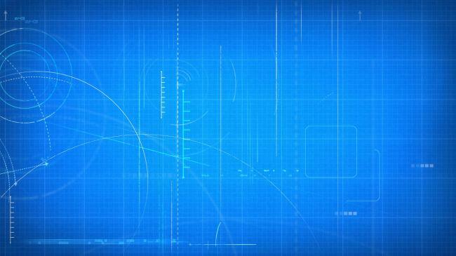 动感蓝色舞台背景视频素材模板下载(图片编号:)