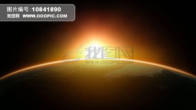 初升的太阳视频素材