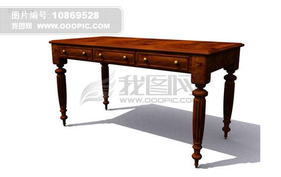 3d古典台桌模型模板下载 10869528 3d模型