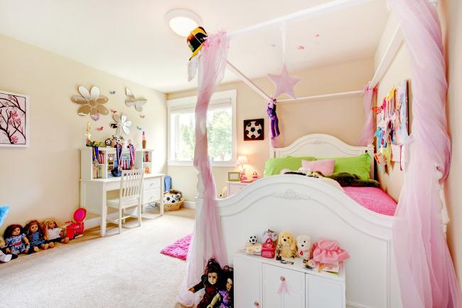 现代女生房间 装修装饰