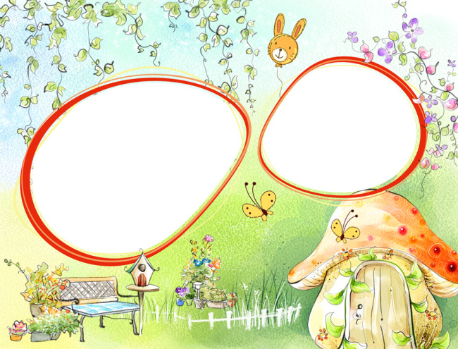 手绘儿童相册创意模板下载(图片编号:10883177)_婚纱