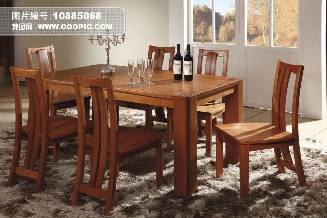 实木餐桌椅图片素材(图片编号:10885068)