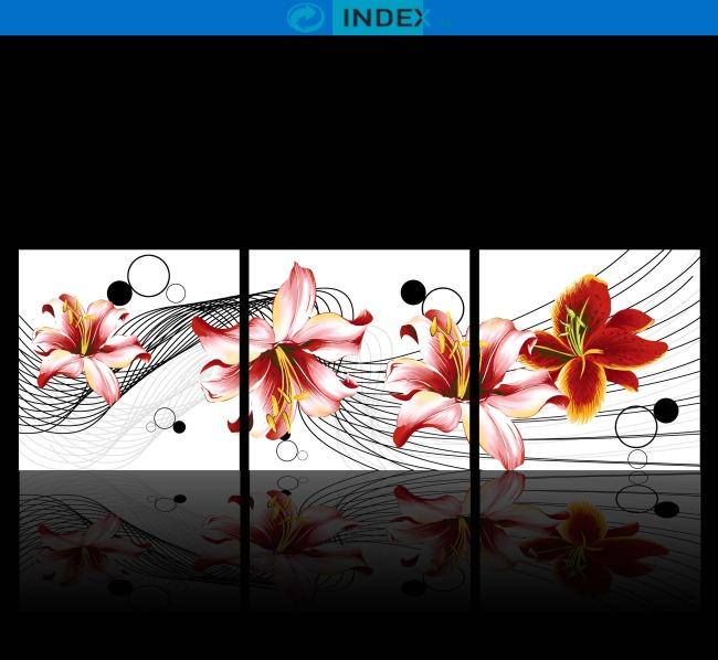 背景墙|装饰画 无框画 中国风无框画 > 动感流线中国风古典手绘无框画