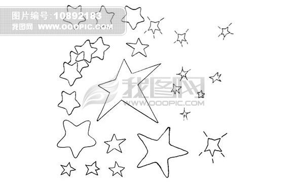 ps星星笔刷模板下载(图片编号:10892183)