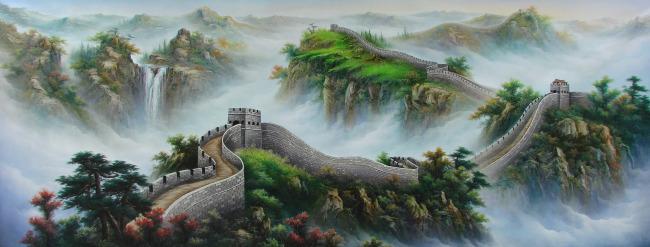 山水画 风景画