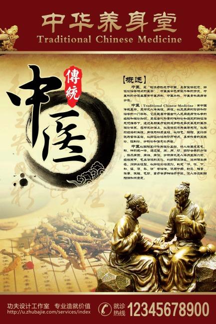 传统中医海报设计