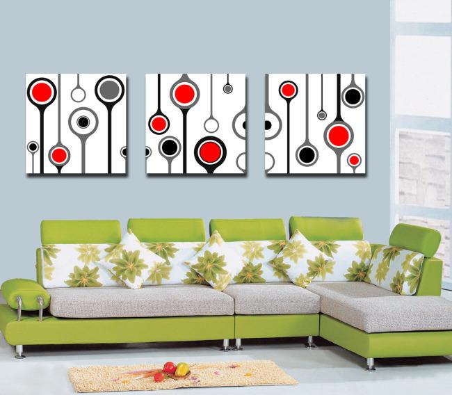 抽象元素室内装饰画