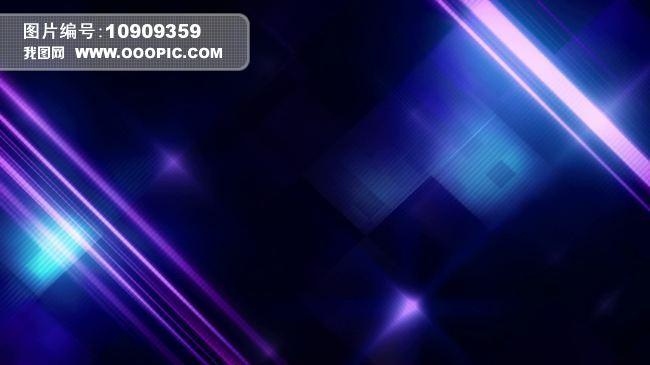 蓝色炫光舞台背景视频素材模板下载(图片编号:)