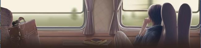 火车窗外风景移动效果flash动画