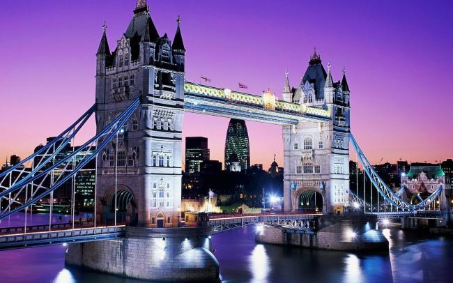 伦敦双子桥风景图图片下载 英国 泰晤士河 伦敦 塔 塔桥 伦敦塔桥
