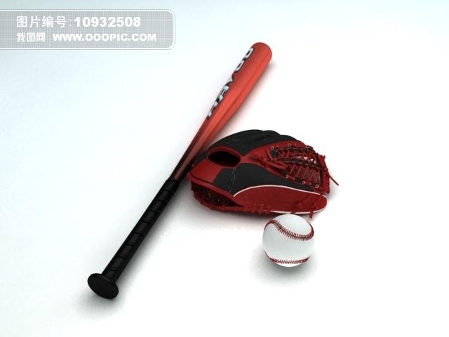 棒球_棒球集锦矢量图