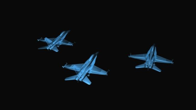 飞机飞行高清led大屏幕背景视频素材模板下载(图片:)