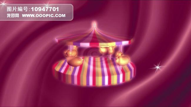 儿童卡通游乐园儿歌舞蹈视频背景下载