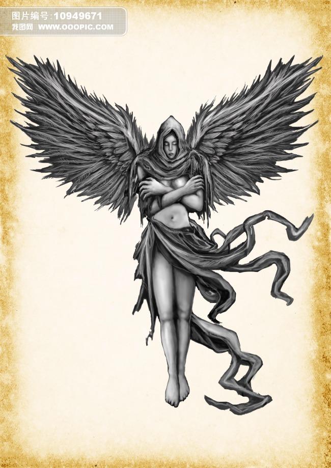 堕落天使 纹身
