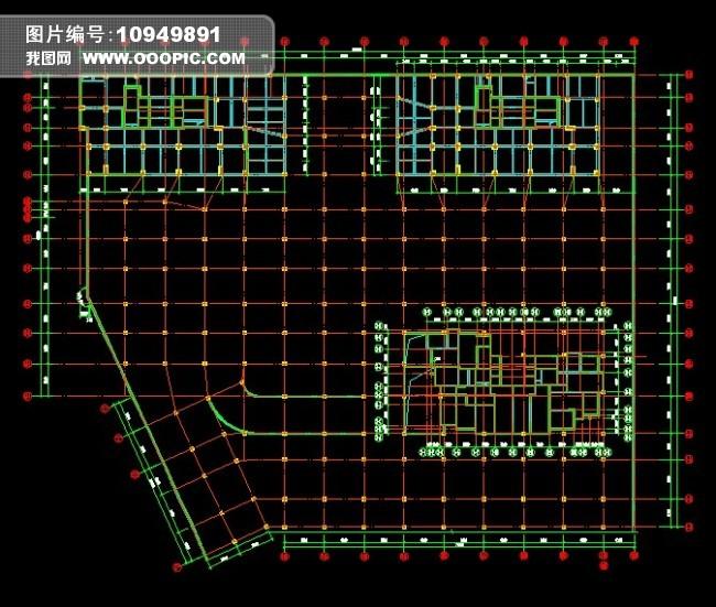 cad基础平面图