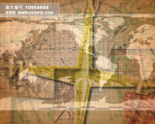 地图视频素材图片下载