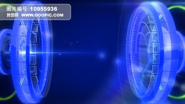 科技蓝色背景素材模板下载(图片编号:10955936)