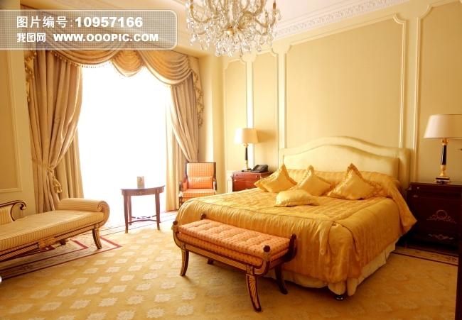 豪华酒店客房装饰图片