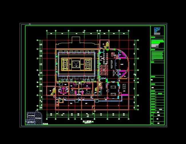 室内平面图模板下载 室内平面图图片下载 cad结构图 cad图