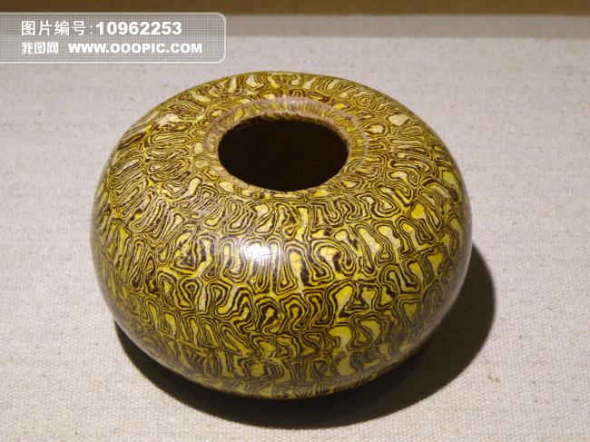 唐代瓷器绞胎盂唐代瓷器陶瓷绞胎盂