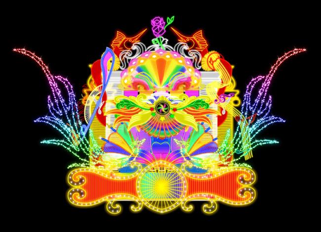 海报设计 广告牌设计|模板 > 璀璨闪亮-灯饰广告牌  中国最大的设计