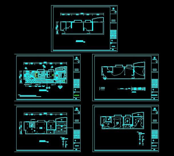 房屋水电布置图模板下载 房屋水电布置图图片下载 cad家装设计图