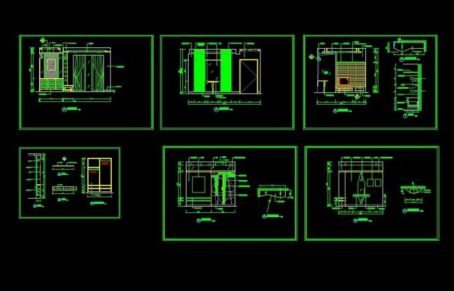 家装施工图 室内设计 施工图 高清图片; cad家装平面布置图图片;
