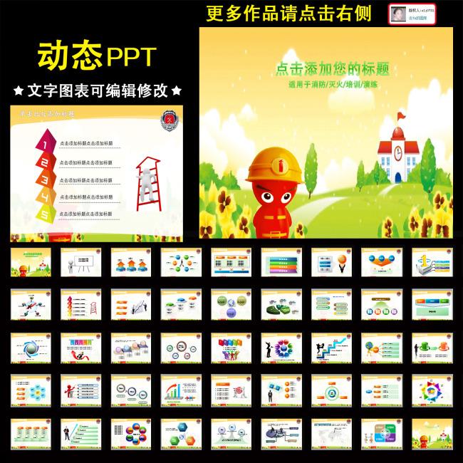 我图网提供独家原创动态卡通消防小人防火安全火灾PPT正版素材下载, 此素材为原创版权图片,图片,图片编号为10985365,作品体积为,是设计师slj0731在2013-04-20 17:48:23上传, 素材尺寸/像素为-高清品质图片-分辨率为, 颜色模式为模式:CMYK,所属警察PPT分类,此原创格式素材图片已被下载3次,被收藏79次,作品模板源文件下载后可在本地用软件软件: PowerPoint 2003(.