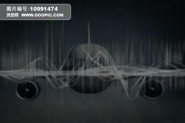 飞机线条视频背景素材模板下载(图片编号:10991474)