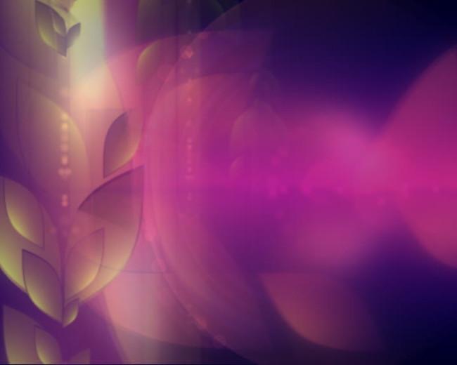 梦幻三维空间抽象动态led背景