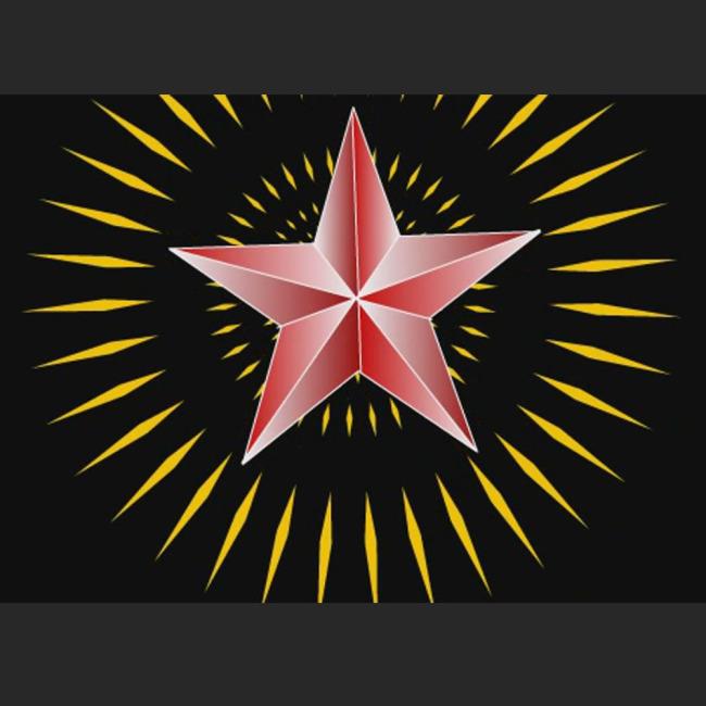 红星闪闪图片