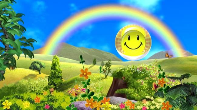 六一儿童节卡通风景视频图片下载春天美景视频背景