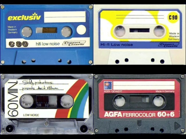 卡通磁带视频背景素材