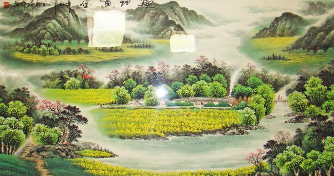 田园风中国画