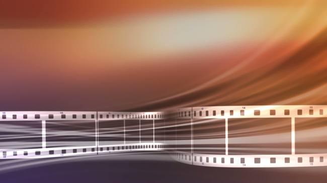 影视背景_动态电影影片胶卷胶片高清背景视频素材