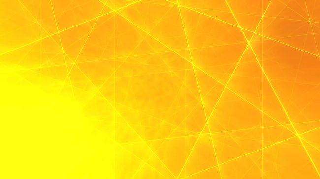 动态黄色线条抽象梦幻高清视频背景素材