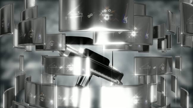 钢琴架子鼓动态高清音乐视频背景素材