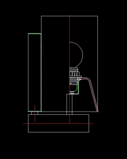 布罩壁灯CAD设计图纸模板下载 11016031 其他CAD图纸 cad图纸