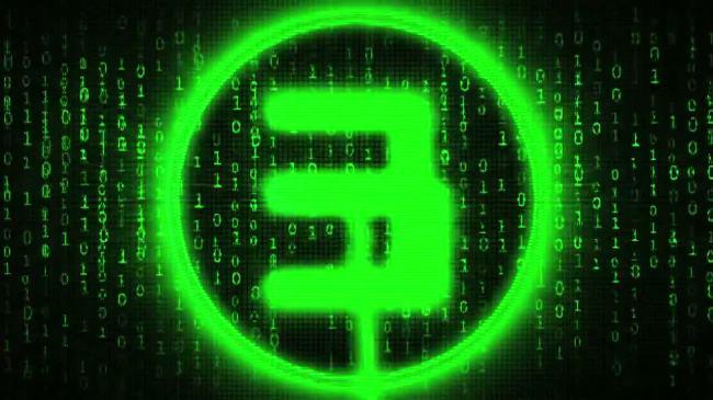 黑客帝国数码科技数字5秒倒数倒计时