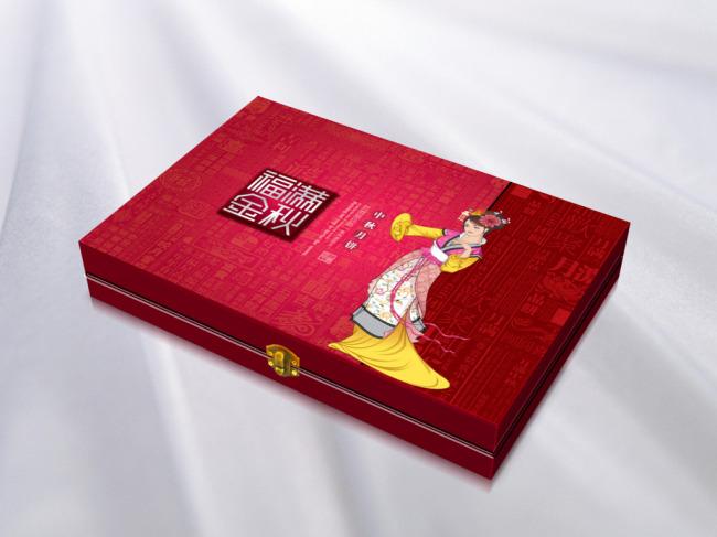 高档月饼包装设计
