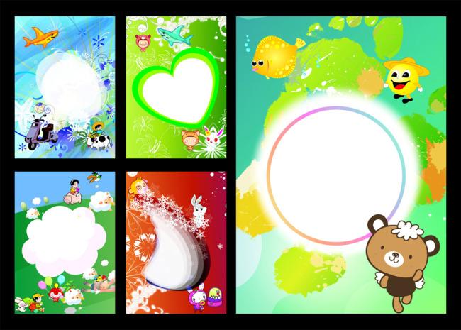 卡娃伊-儿童相册设计模板下载(图片编号:11052243)