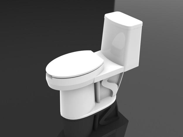 3d马桶模型模板下载(图片编号:11060612)